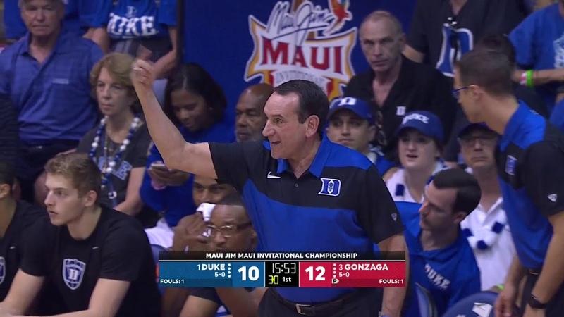 Duke vs. Gonzaga | Full Game | NCAA Men's Basketball | November 21, 2018