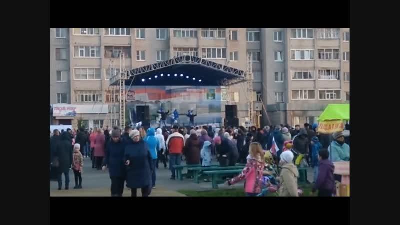 Шоу дуэт ОБА DVA открытие Главной площади город Сокол Антон Федотов и Александр Тюхов ОБА ДВА