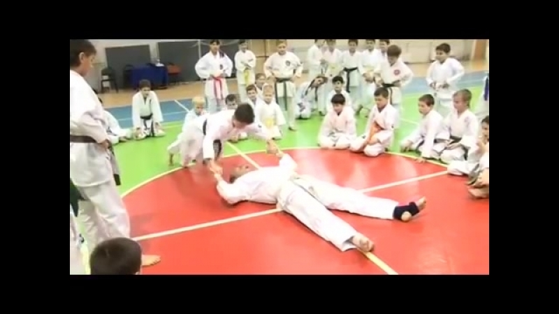 Karate Seiji Nishimura. Seminar in Moscow 2008 (4/6)