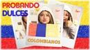 Karol Sevilla   Probando Dulces Colombianos   ProbandoDulcesColombianos