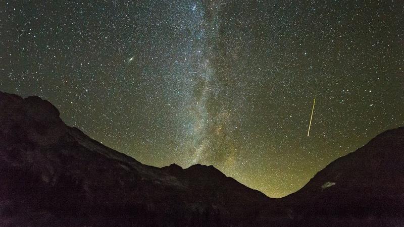 Ночная Адыгея Таймлапс со звездным небом Night Of Adygea Timelapse Star