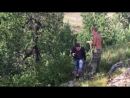 Добыча дров на Сак-Сыре