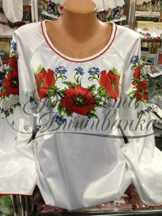 Схемы для вышивки рубашек женских БЖ-001.