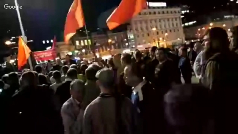 Бессрочка КПРФ во Владивостоке! (день 2-й).