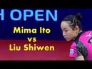Swedish Open 2018 Mima Ito vs Liu Shiwen Best Selections