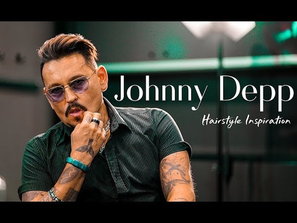 Johnny Depp Inspired Hairstyle . Men`s Hairstyle Inspiration 2018