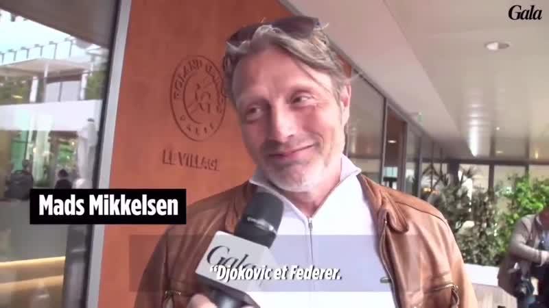 Mads Mikkelsen at Roland Garros on June 08, 2019 (2)