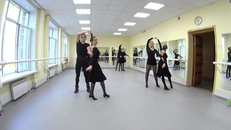 Показ. Народно-сценический танец. 2-й семестр. Часть 12