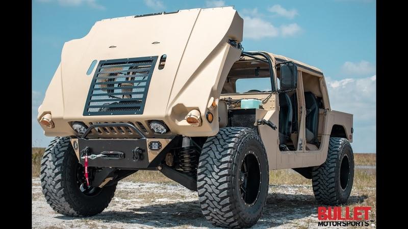 Bullet Motorsports The Beastt Monster Humvee Build! [4K]