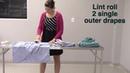 Упаковка хирургической одежды для стерилизации Gown Pack