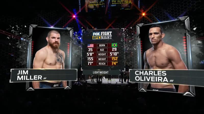 UFC FOX 31 Джим Миллер — Чарльз Оливейра