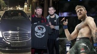 Хабиб и Конор отстранены временно, Нурмагомедов получил подарок от Кадырова, Хабиб задумался о WWE