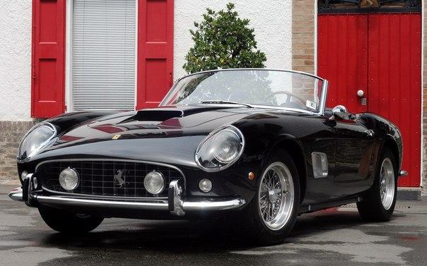 Одна из красивейших моделей Ferrari