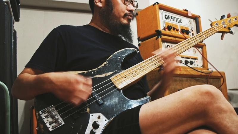 The band apart「Eric.W」(原昌和ベース・パート):ギター・マガジン2018年11月号