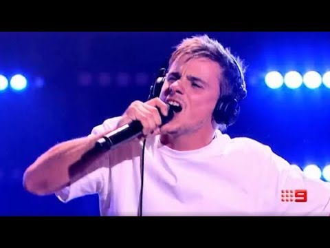 Sam Perry When Doves Cry The Voice Australia 2018