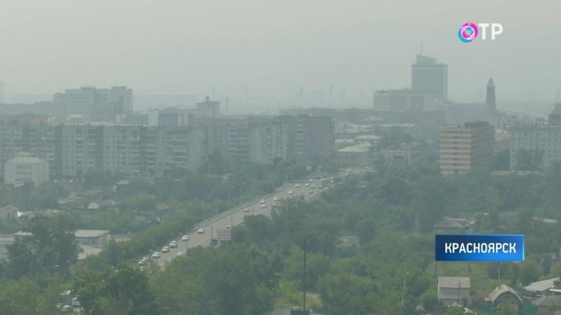 Концентрация загрязняющих веществ в Красноярске