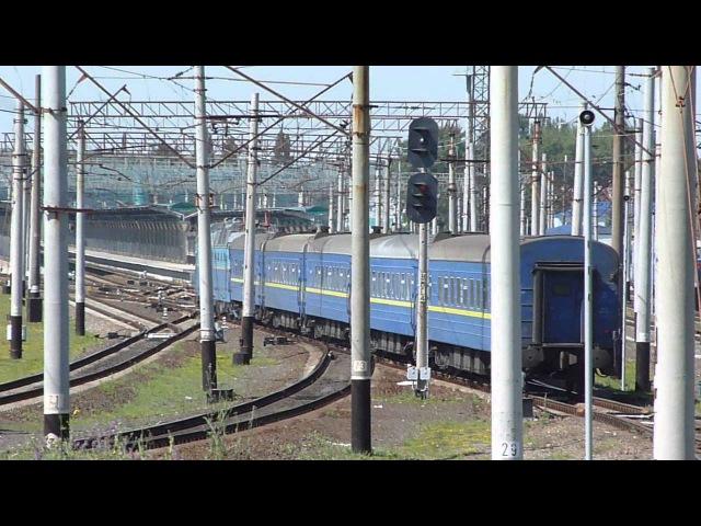 220. [УЗ] ЧС7-293 с пасс. поездом Днепропетровск - Донецк