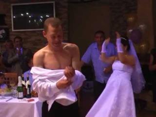 Свадебные приколы.Штрафные танцы-1. Нижний Тагил