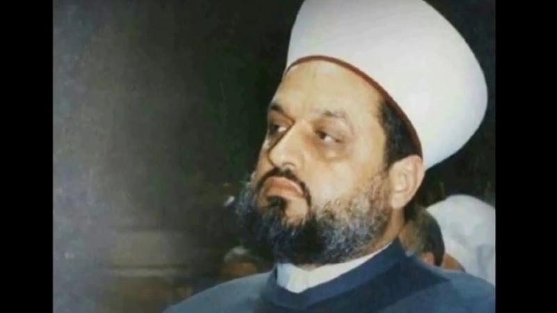 رحمه الله😔 Авлия Шейх Низар Аль Хьалябий о Ваххабитах