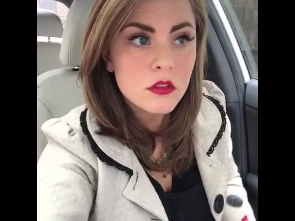 Hilarious lip sync to Ice Cream Paint Job in the car by Sara Hopkins vine
