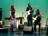 Luis Salinas, Marina, Nancy y Amilcar Abalos interpretando dos zambas de Adolfo Abalos