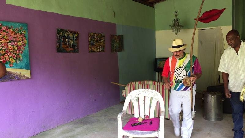 UNICAPOEIRA: Pintores da Floresta. Hasteamento da Bandeira. Mestres Polêmico, Amorim, Mauro. 30jun18