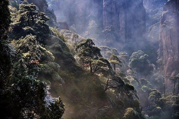 Гора Саньцин, провинция Цзянси, Китай