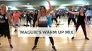 Maguie's Warm Up Mix, by DJ BADDMIXX - Carolina B