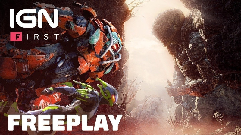 Anthem 8 Minutes of Freeplay Expedition Gameplay World Events Lore and Bosses IGN First