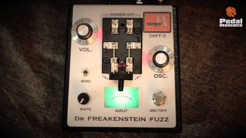 RAINGER FX - Dr Freakenstein Igor - Fuzz - Pedalmaniacs