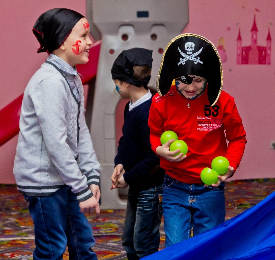 Детский День рождения аниматоры пираты Запорожье