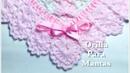 Orilla border puntilla para mantas cobijitas en gancho a crochet en ganchillo 133