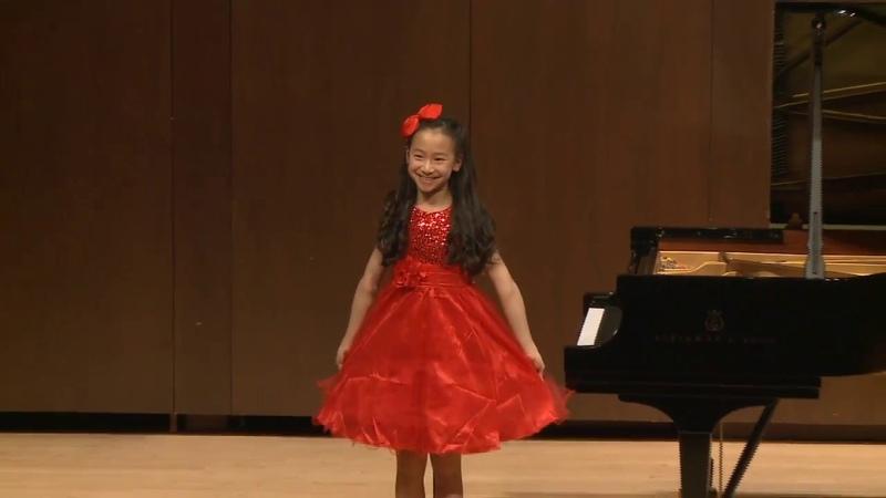 Harmony Zhu (age 11) - Ballade No. 1, Composed by Harmony Zhu