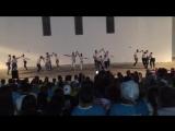 Танец вожатых на открытии 3 смены