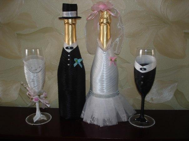 Свадебный набор сделано своими руками Наталья Наумик