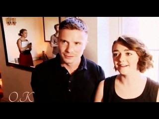 Joe Dempsey  & Maisie Williams - One thing