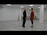 Alex y Rita Lesson tango - Caminar
