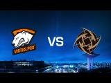 Virtus.Pro vs. Ninjas in Pyjamas - Cache - Game 1 - Quarter-final - DreamHack Masters Malmö 2016