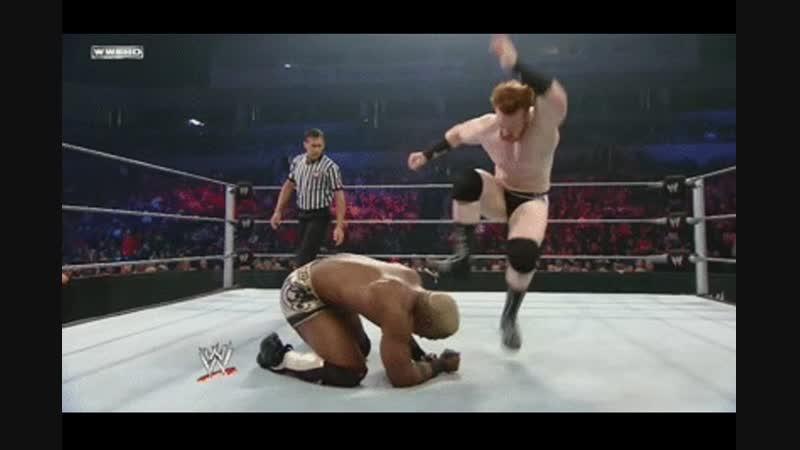 WWE Wrestling MetalHead Sheamus vs rappers niggers 11DeadFace Рестлинг ВВЕ Металлист Шеймус против ниггеров рэпперов 11ДэдФэйс