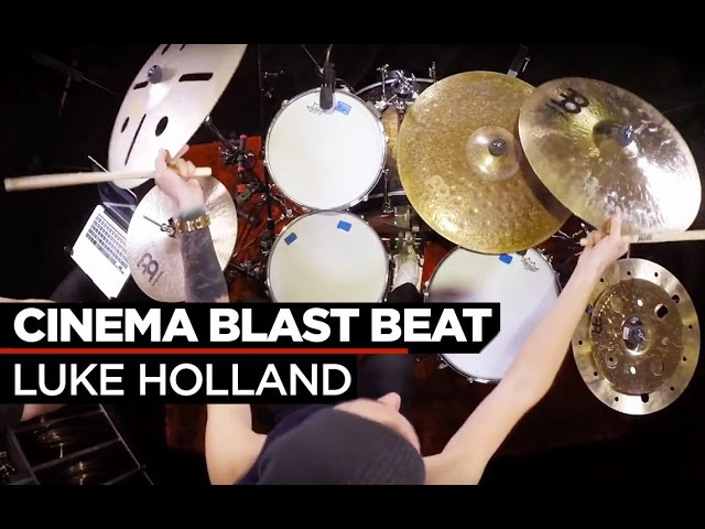 Blast Beat Fill | Luke Holland | Drum Lesson