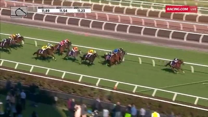 Savoie wins with authority in the Derby Trial.