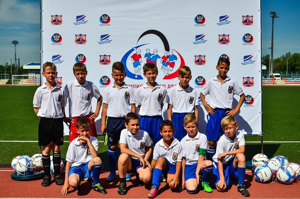 На стадионе СК «Кировец» состоялось торжественное открытие Республиканского турнира «Лига дворового футбола»