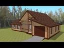 Идеальный деревянный дом для дачи Д-2500 ростерн дом дача строительство деревянный идеальный