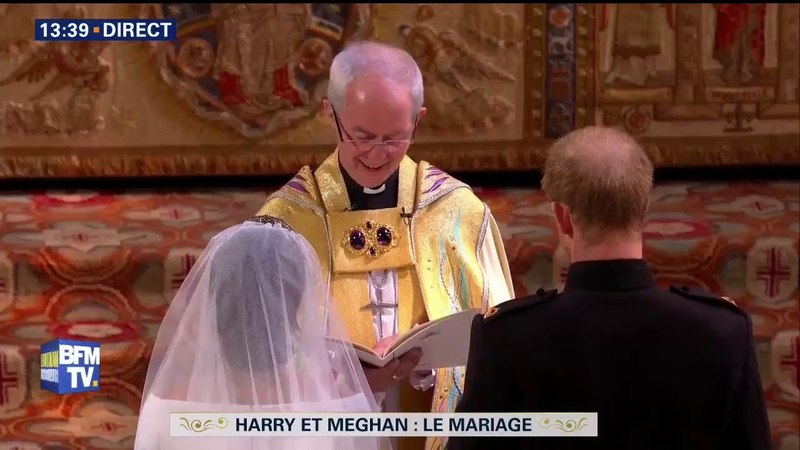Meghan Markle et le Prince Harry officiellement unis par les liens du mariage