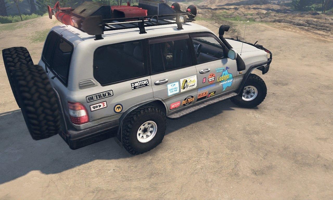 Toyota Land Cruiser 105 для 25.12.15 для Spintires - Скриншот 2