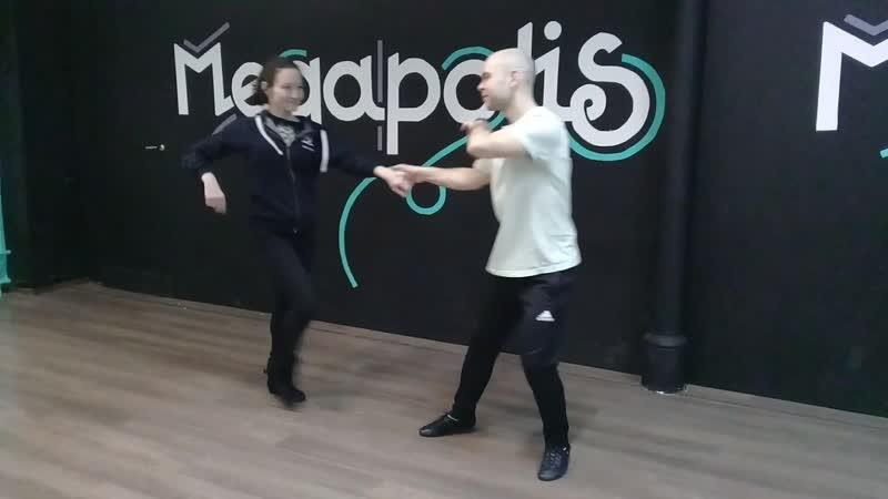 West coast swing в Megapolis Dance