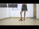 Chinese girl wear cosplay High heeled shoes crush SUPERSONICO