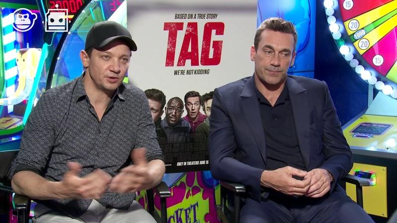 TAG - Jon Hamm Talks Comics With Jeremy Renner
