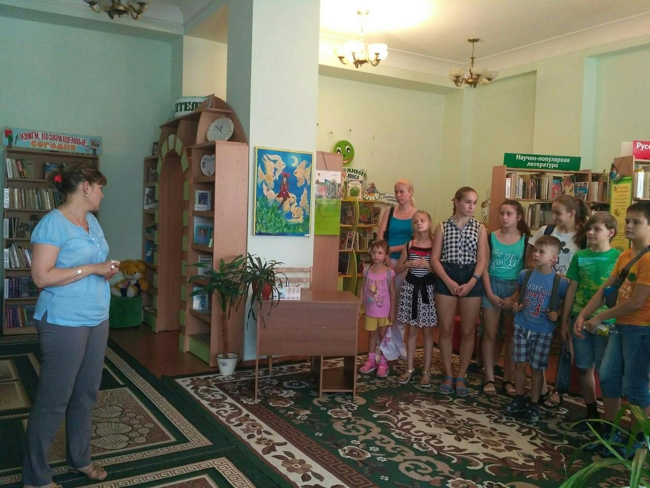 Донецкая республиканская библиотека для детей, отдел обслуживания учащихся 5-9 классов, вам с журналами назначена встреча