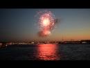 Салют на 9 мая 2018 года.Великий день,великий праздник. Вид с Литейного моста.